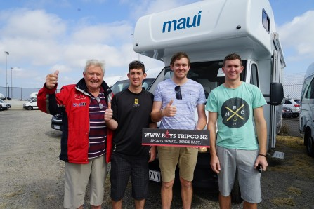 Bathurst 1000 Boys Trip Campervan packages from NZ