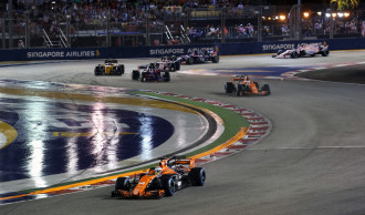 Singapore Formula 1 Grand Prix organised tour packages from NZ by Boys Trip